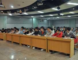 北京就业学校上课情形