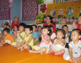 孩子们好专注!